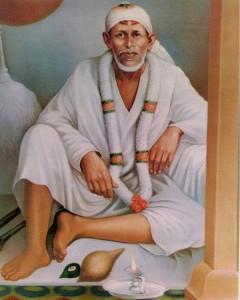 Sai Baba Shirdi portrait Dwarakamai