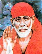 Sai Baba blessing
